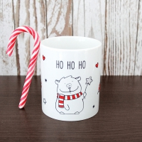 Porzellan-Tasse Tasse Ho Ho Ho