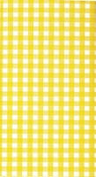 Tablecloth Karo yellow