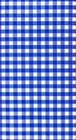 Tablecloth Karo blue