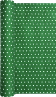 Table Runner Mini Stars green