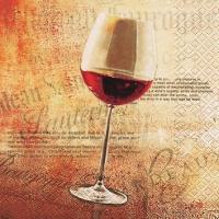 Cocktail Servietten Classic Red Wine