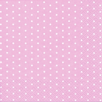 Cocktail Servietten Mini Dots rose