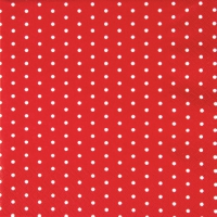 Cocktail Tovaglioli Mini Dots red/white
