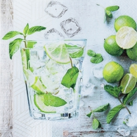 Cocktail Servietten Mojito