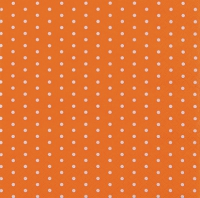 Cocktail napkins Mini Dots orange
