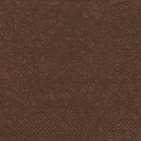 Cocktail napkins Modern Colours brown