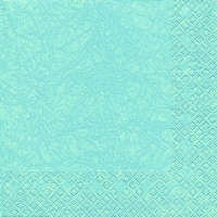 Cocktail napkins Modern Colours aqua