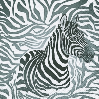 Lunch napkins Zebra