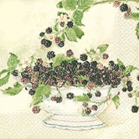 Lunch napkins Black Berries