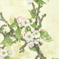 Lunch Servietten  Painted Apple blossom