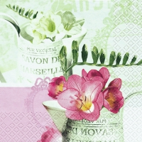 Lunch napkins Freesia Vintage