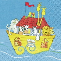 Lunch Servietten Noah´s Ark