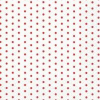 Lunch napkins Mini Dots white/red