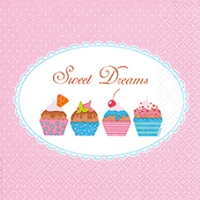 Lunch Servietten Sweet Cupcakes
