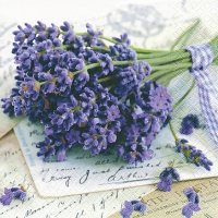 Lunch Servietten Lavender Greetings