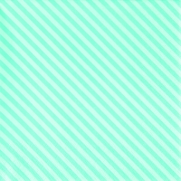 Lunch Servietten Side Stripes aqua