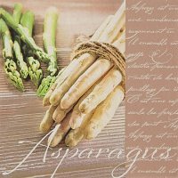 Lunch Servietten Delicious Asparagus