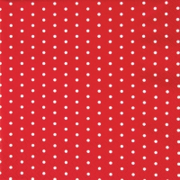 Servilletas Lunch Mini Dots red/white
