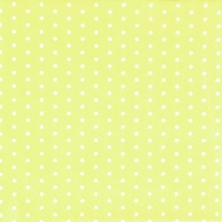 Servilletas Lunch Mini Dots yellow/white