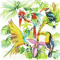 Lunch Servietten Birds of Paradise