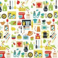 Lunch Servietten Kitchen Mix