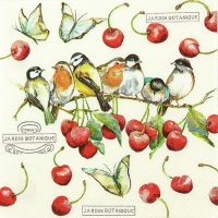 Lunch napkins Cherry Birds