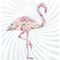 Lunch Servietten Flamingo