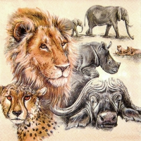 Lunch napkins The Big Five