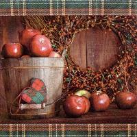 Lunch Servietten Apple Picking Season