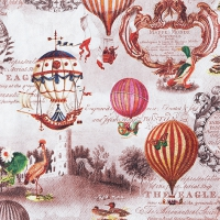 Lunch napkins Vintage Ballons