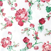 Lunch napkins Cottage Roses