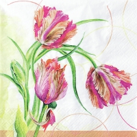 Servilletas Lunch Parrot Tulip