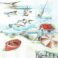 Lunch napkins Sea Breeze