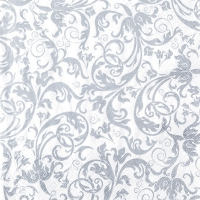 Lunch napkins Arabesque silver