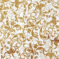 Lunch napkins Arabesque gold