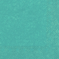 Serviettes lunch Modern Colors turquoise