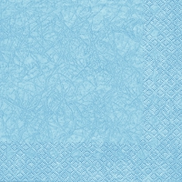 Lunch napkins Modern Colours light blue