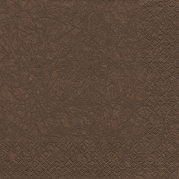 Lunch napkins Modern Colours brown