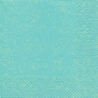 Serviettes lunch Modern Colours aqua