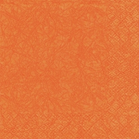 Lunch napkins Modern Colours orange