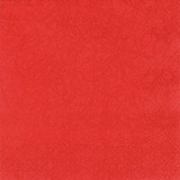 Serviettes lunch Modern Colours cardinal red