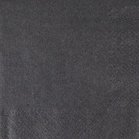 Lunch napkins Pearl Effect - black