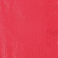 Lunch napkins Pearl Effect red - red