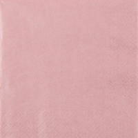 Serviettes lunch Pearl Effect - rose