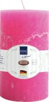 Bougies Rustik pink