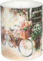 Velas Flower Bike