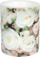 Dekorkerze Romantic Roses