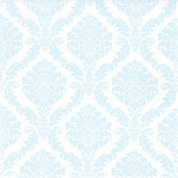Cocktail napkins Elegant light blue