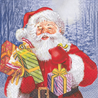 Lunch Servietten Santas Giving