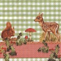 Lunch Servietten Alvin and Bambi